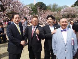 桜を見る会③ 170415.JPG