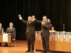 沖縄市市長選の勝利へ.JPG